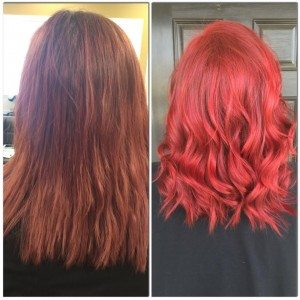 Salons in Greenville that do great color