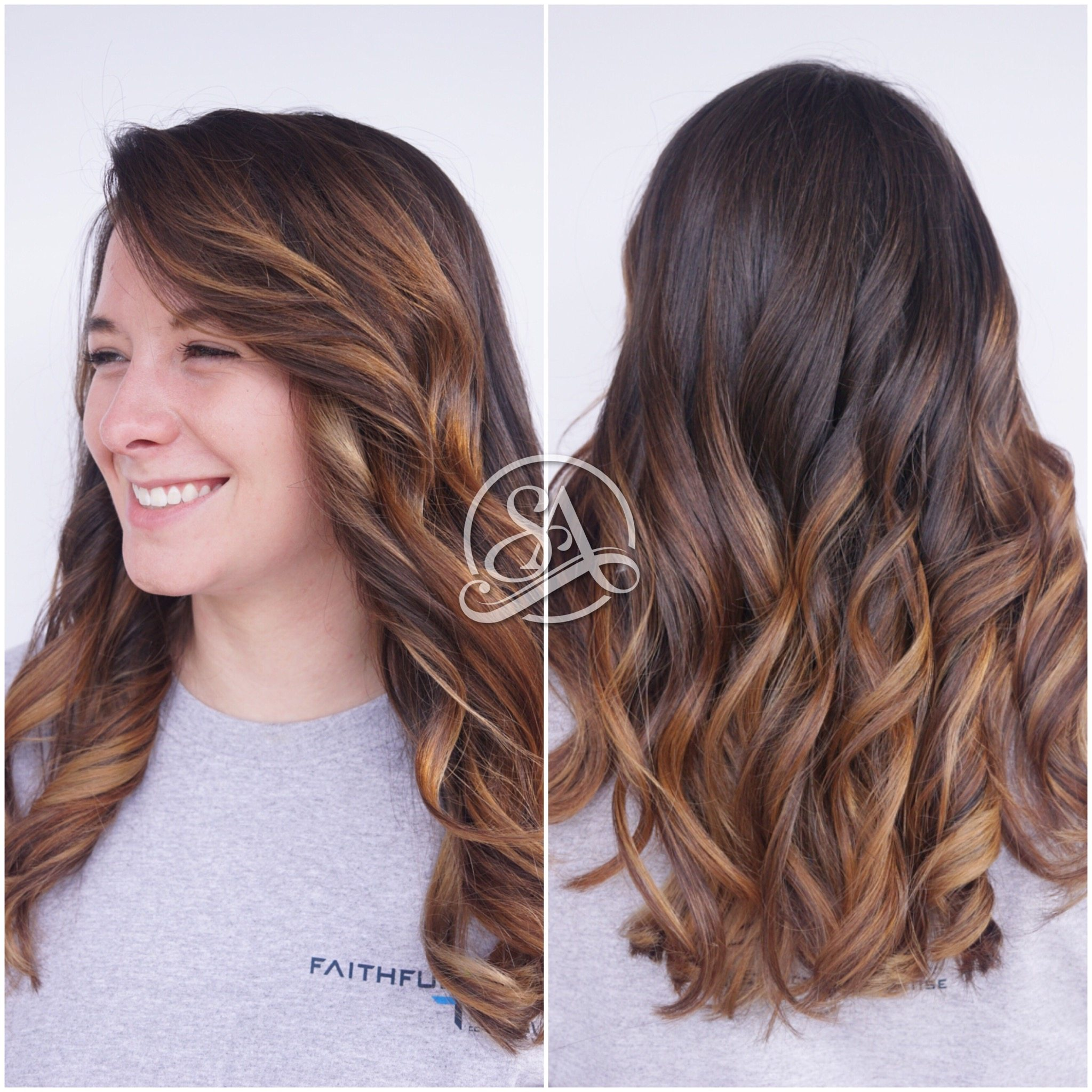 balayage greenville salon