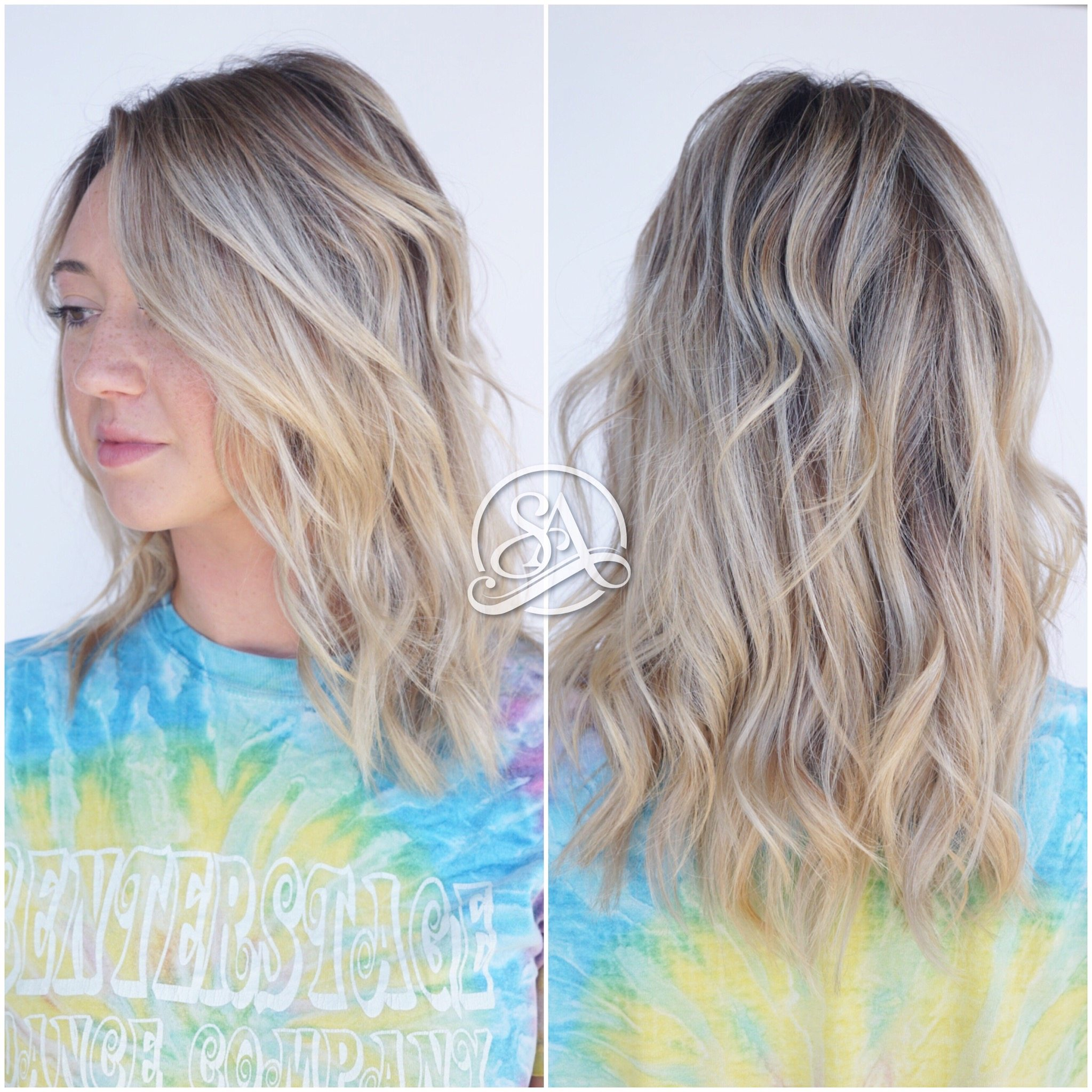 blonde hair greenville sc