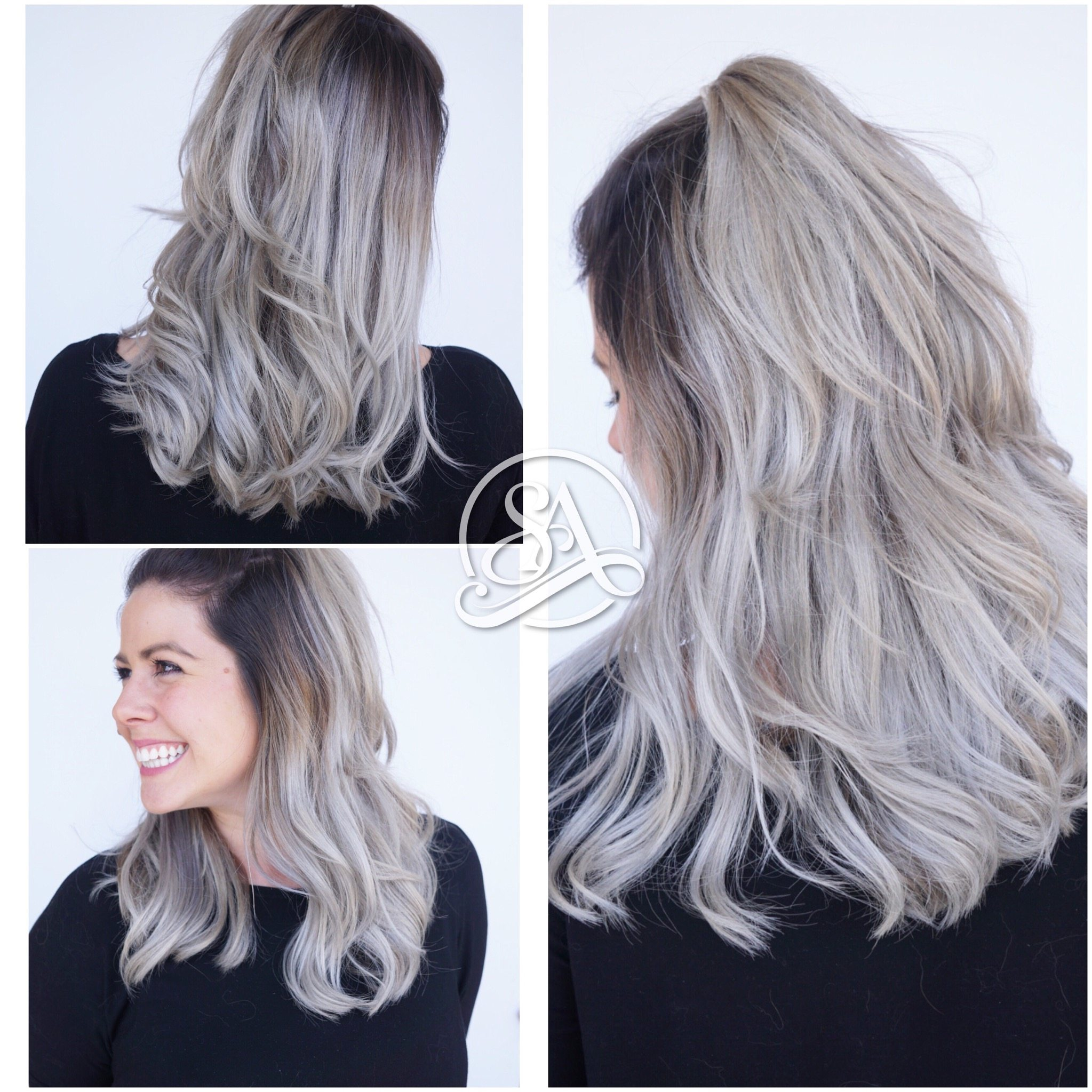 silver hair, greenville sc